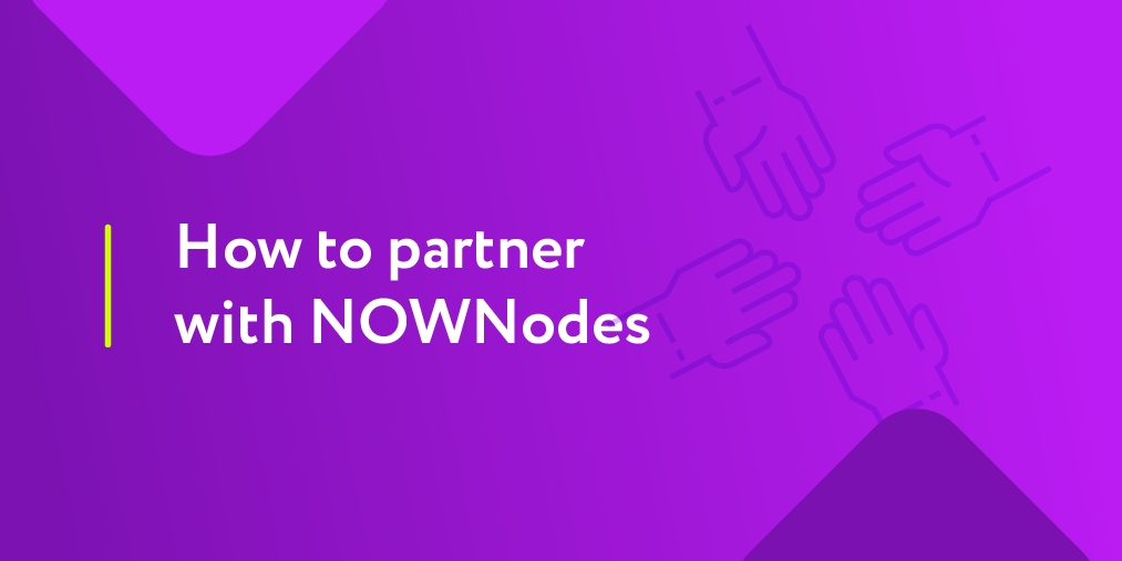 How to partner with NOWNodes