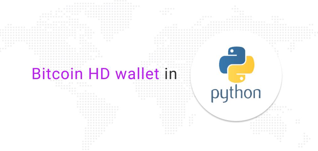 Bitcoin wallet in Python